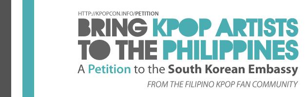 kpopcon petition