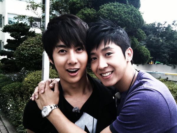 Hyung Joon baby & Brian